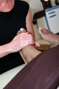 Therapeutic Foot Massage is a deep massage focused on reflex points and areas of tension.