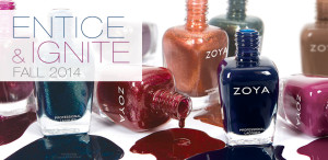 Zoya entice and ignite Fall 2014 collection available now!