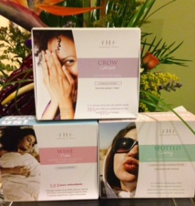Wine Down, Spotted Leaving, and Crow Catcher are great new serum/eye creams you'll find on our shelves and in our facials