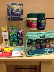 A small selection of the great new Kneipp products we have!