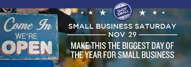 Shop local and save on Small Business Saturday!