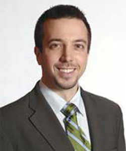 Dr. Braxton Pulley, owner of East Village Chiropractic