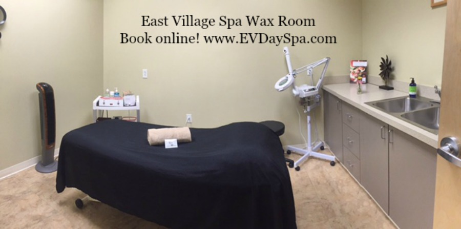 One of our waxing rooms