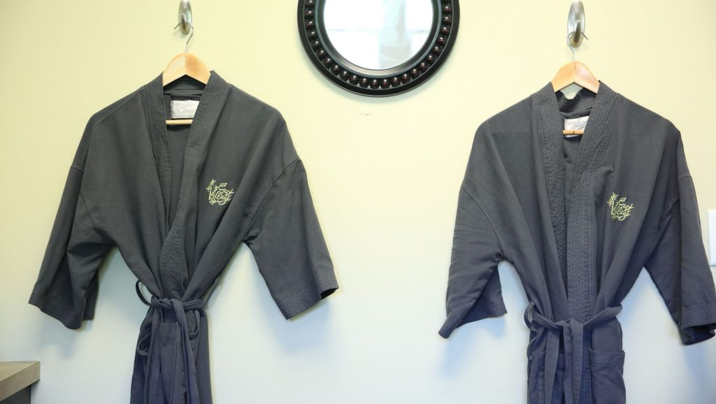 Robes at East VIllage Spa